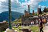 Delphi RX605944 Serpent Column and temple of Apollo (Recliner) Tags: oracle pytho mountparnassus