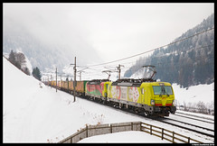 TX Logistik 193 550, St. Jodok 08-02-2018 (Henk Zwoferink) Tags: stafflach tirol austria stjodok siemens henk zwoferink txl txlogistik alpha trains vectron 193 br193