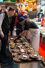 _D8E3573_LR_LOGO (Ray 'Wolverine' Li) Tags: hongkong asia asiafavorites chinese wetmarket market street streetphotography food seafood clam