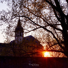St. Georg (r.wacknitz) Tags: kloster kirche sundown barock landkreisgoslar harzvorland niedersachsen nikond3400 tamron18200