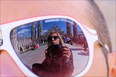 riˈtratto (vasso -mil. Greece) Tags: portrait portret face glasses selfportret selfie sunny duomo italy milano