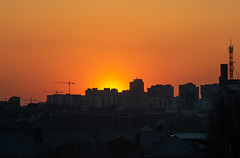 Сityscape sunset (bolex.ua) Tags: kyiv keiv ukraine city cityscape sunset red minimalism yellow buildings light color photography nikon nikonphotography helios442 helios44 kyivphoto sum