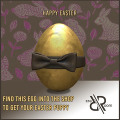 [Rezz Room] Easter Gift (REZZ ROOM) Tags: easter egg hunt gift animals animesh puppy dog bulldog