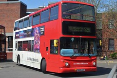 National Express West Midlands Dennis Trident 2/Alexander ALX400 4351 (BX02 AVF) (Wolverhampton) (john-s-91) Tags: nationalexpresswestmidlands dennistrident2 alexanderalx400 4351 bx02avf walsall route529 avengersendgame