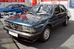 1983 Alfa Romeo 6 Front (Joachim_Hofmann) Tags: auto fahrzeug verbrennungsmotor ottomotor alfa alfaromeo kraftfahrzeug kfz italisenischesauto italienischesfahrzeug alfisti