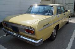 1962 Toyota Crown Heck (Joachim_Hofmann) Tags: auto fahrzeug verbrennungsmotor ottomotor toyota crown japanischesauto