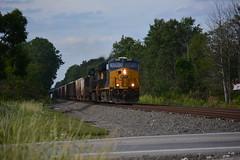 CSX Youngstown Line Stone Train (J. Knight_19) Tags: csx ns norfolk southern stone train