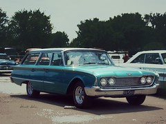 Sixty Ford Wagon (novice09) Tags: backtothefifties carshow ford stationwagon 1960 ipiccy h