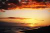 Sunset Over the Forbidden Island (Steve Corey) Tags: niihau forbiddenisland hawaii kauai privateisland ocean sea water sky sunset stevecorey clouds