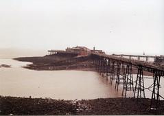 Birnbeck Pier (Walt Jabsco) Tags: kodakcolourplus kodak olympus olympusom10 weston birnbeck pier victorian birnbeckpier westonsupermare somerset
