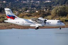 Sky Express ATR 42-500 SX-SIX 003 (A.S. Kevin N.V.M.M. Chung) Tags: aviation aircraft aeroplane airport airlines plane spotting flying greece corfu cfu atr42500 atr approach landing