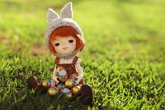 My treasure (Petitedoll) Tags: easter doll bjd smile meng secretdoll