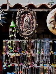 Sun Madonna Moon (skipmoore) Tags: mexico ensenada madonna beads bangles