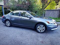The WayneMobile (walneylad) Tags: honda accord sedan 2011 familycar car automobile grey