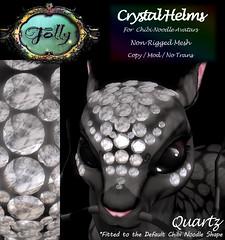 Folly_NoodleCrystalHelmAd_Quartz (Cane's Folly SL) Tags: cane sutter second life chibi noodle avatars