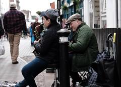 Buskers (Bury Gardener) Tags: suffolk streetphotography street streetcandids snaps strangers candid candids peoplewatching people folks england eastanglia uk 2019 fuji fujifilm fujixt3 abbeygatestreet