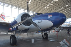N13347 (LAXSPOTTER97) Tags: n13347 united air lines boeing 247 cn 1729 aviation airport airplane kbfi museum flight jet blast bash