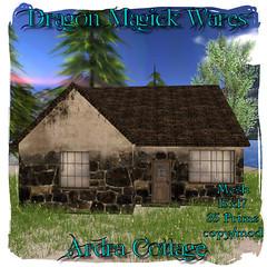Ardra Cottage (Dragonia DeCuir Dragon Magick Wares) Tags: dragonmagickwares dragoniadecuir secondlife sl mesh hunt worldtour house