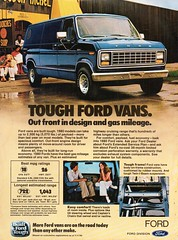 1980 Ford Van USA Original Magazine Advertisement (Darren Marlow) Tags: 8 9 19 80 1980 f ford v van c car cool collectible collectors classic a automobile vehicle u s us usa united states american america 80s