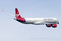 G-VFIT Virgin Atlantic A340-600 London Heathrow Airport (Vanquish-Photography) Tags: gvfit virgin atlantic a340600 london heathrow airport vanquish photography vanquishphotography ryan taylor ryantaylor aviation railway canon eos 7d 6d 80d aeroplane train spotting egll lhr londonheathrow londonheathrowairport heathrowairport