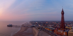 Blackpool pano (Joe Hayhurst) Tags: blackpool dji drone lancashire mavic mavicair panorama