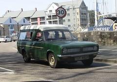 1977 Austin Morris Marina Suntor Camper (occama) Tags: tgy462r 1977 morris marina suntor camper van old british green cornwall uk torcars