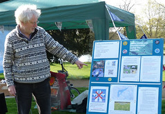 Friends of the Earth at Bean Pole Day, April 2019 (2) (karenblakeman) Tags: caversham uk april 2019 beanpoleday cavershamcourtgardens friendsoftheearth howtomakeourcountrysidesaferforwildlife reading berkshire