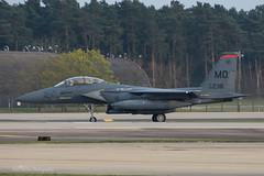 USAF, McDonnell Douglas F-15E Strike Eagle (90-0238/MO) 'Harley Quinn', 391st FS/366th FW (mattmckie98) Tags: aircraft aviation airforce usaf us jet fighter f15 nikon lakenheath