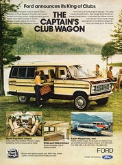 1979 Ford Captain's Club Wagon USA Original Magazine Advertisement (Darren Marlow) Tags: 1 7 9 19 79 1979 f ford c captains club w wagon carcool collectible collectors classic a automobile v vehicle u s usa us united states american america 70s