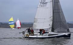Still in front (antrimboatclub) Tags: spinnaker atlantic challenge antrimboatclub boat sail sailing ireland sixmilewater loughneagh antrimbay antrim