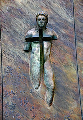 Resurrection (v seger) Tags: christ resurrection bronze door igor mitoraj basilica rome italy