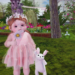 Spring Bunbun (daisypea) Tags: flickr spam art daisy crowley secondlife second life sl roleplay toddler child kid children tot td bebe bad seed toddleedoo colour color draw paint crayon photo photography picture rp cute sweet adorable baby little girl daughter sister family look day lotd landscape school create creativity creative sweetpea portrait snap snapshot quick dress up dressup person people play playful adore 2006 flower illustration daydream dream twin