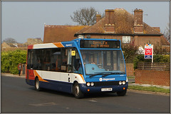 Actually, yes you are! (Jason 87030) Tags: stagecoach optare solo southeast eastkent minnisroad birchingtononsea hols holiday uk bus 47177 sorry service our stop lady route red white blue orange display canon eos wheels sunny light april 2019 sale miles barr firstlove sign