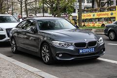 Poland Diplomatic (Saudi Arabia) - BMW 4series GranCoupé F36 (PrincepsLS) Tags: poland polish diplomatic license plate 099 saudi arabia germany berlin spotting bmw 4series grancoupé f36