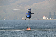 (Zak355) Tags: skyhook helicopter rothesay isleofbute bute fire scotland scottish aviation skyhookhelicopters aircraft wildfire hillfire glarr