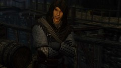 The Night Is Young (Jillian-613) Tags: skyrim tes games fantasy screenshot elves elf altmer vampire