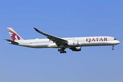 Qatar Airways  Airbus A350-1041 A7-AND (widebodies) Tags: london heathrow lhr egll widebody widebodies plane aircraft flughafen airport flugzeug flugzeugbilder qatar airways airbus a3501041 a7and