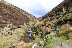 Derbyshire Peak District (Bluden1) Tags: countryside country hills climbing waterfall water rocks derby yorkshire