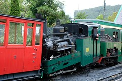 0-4-2 Tank Locomotive No. 2 from Brienz Rothorn Bahn in Switzerland, built 1891, is a visitor. (Kentishman) Tags: llanberis wales brienzrothornbahn 042t fujifilmxt2 1891 tank gwynedd dscf0102 mountain switzerland railway snowdon 180550mmf2840