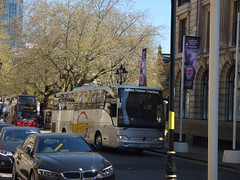 Aston Manor Coaches on Colmore Row (ell brown) Tags: colmorerow birmingham westmidlands england unitedkingdom greatbritain eastersunday coach astonmanorcoaches birminghamcathedral stphilipscathedral tree trees bus nxwm nationalexpresswestmidlands 82 colmoregate sign signs banner banners rockyhorrorshow