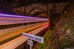 Farben am Abend (Johannes Stork) Tags: br146 doppelstock dostos tunnel regionalexpress schwarzwaldbahn triberg karlsruhe konstanz erlebnispfad