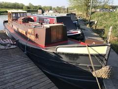 White Heather (Sam Tait) Tags: narrowboat tug working london st marlybone marylebone borough