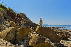 Osmington Mills Rock Beach (Sean McCammon) Tags: osmington dorset sony a7 rocks jurassic coast coastline sea seascape seaside rocky beach