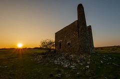 South Phoenix Sundown (Frosty__Seafire) Tags: south phoenix mine cornwall engine house red bricks abandoned mining rural west sunset d7000 1020 sigma landscape