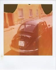 VW oldtimer  -- RoidWeek, 2019 Spring, Day 1. no.2. (lengvari) Tags: oldtimer car expires polaroid film polaroid600 analogue instantphotography vw volkswagen beetle kafer street city
