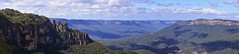 Blue Mtns Panoramic (Smiley Man with a Hat) Tags: bluemountains easter 2019 landscape nsw australia australien bergen mountains oster dielandschaft hdr panoramic