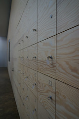 2019-04-FL-208417 (acme london) Tags: exhibition fondationlafayette lockers museum oma paris ply plywood plywoodcladding remkoolhaas timber timberwalls walls