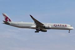A7-ANF | Airbus A350-1041 | Qatar Airways (cv880m) Tags: newyork kennedy jfk kjfk aviation airliner airline aircraft airplane jetliner airport a7anf airbus a350 35x 3501000 3501041 qatar qatari qatarairways oryx swoosh