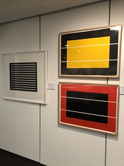 Donald Judd at Christies (ty law) Tags: cameraroll111118 auction donaldjudd christies art prints yellow red schellmann