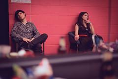 Adriano and Francesca Miccoli at Utilita Arena Newcastle (miccoliband) Tags: miccoli music band siblings official indie pop alternative utilita arena newcastle